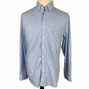 Johnnie-O Prep-Formance Button Front Shirt Men's L